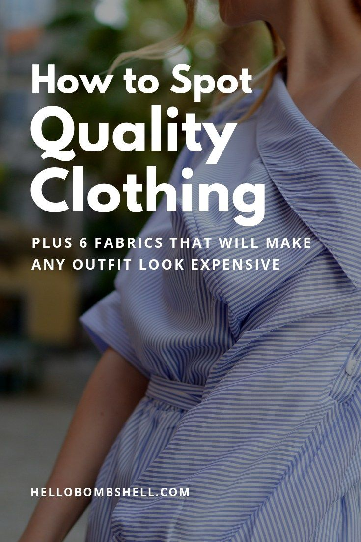 shop many styles buy popular The Ultimate Guide To Identifying High Quality Clothes vs Cheap ...