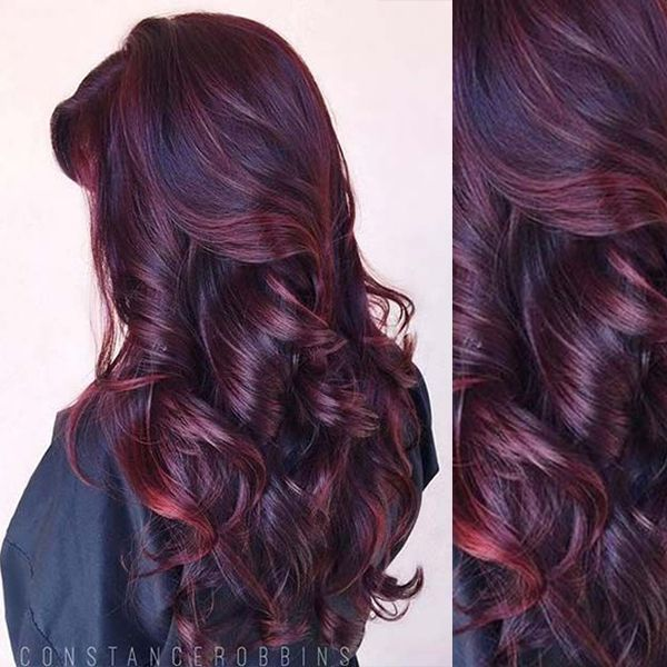 Fabulous Burgundy hair color idea you should not miss