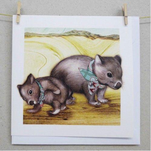 Cards - Wombat