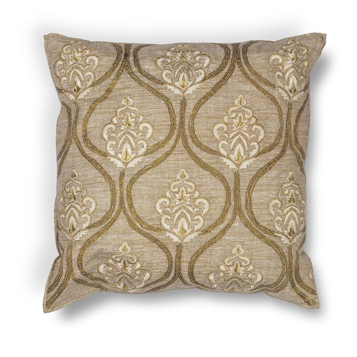 Gold 18 Inch Throw Pillow Kas Oriental Rugs Accent Pillows Throw Pillows Bedding