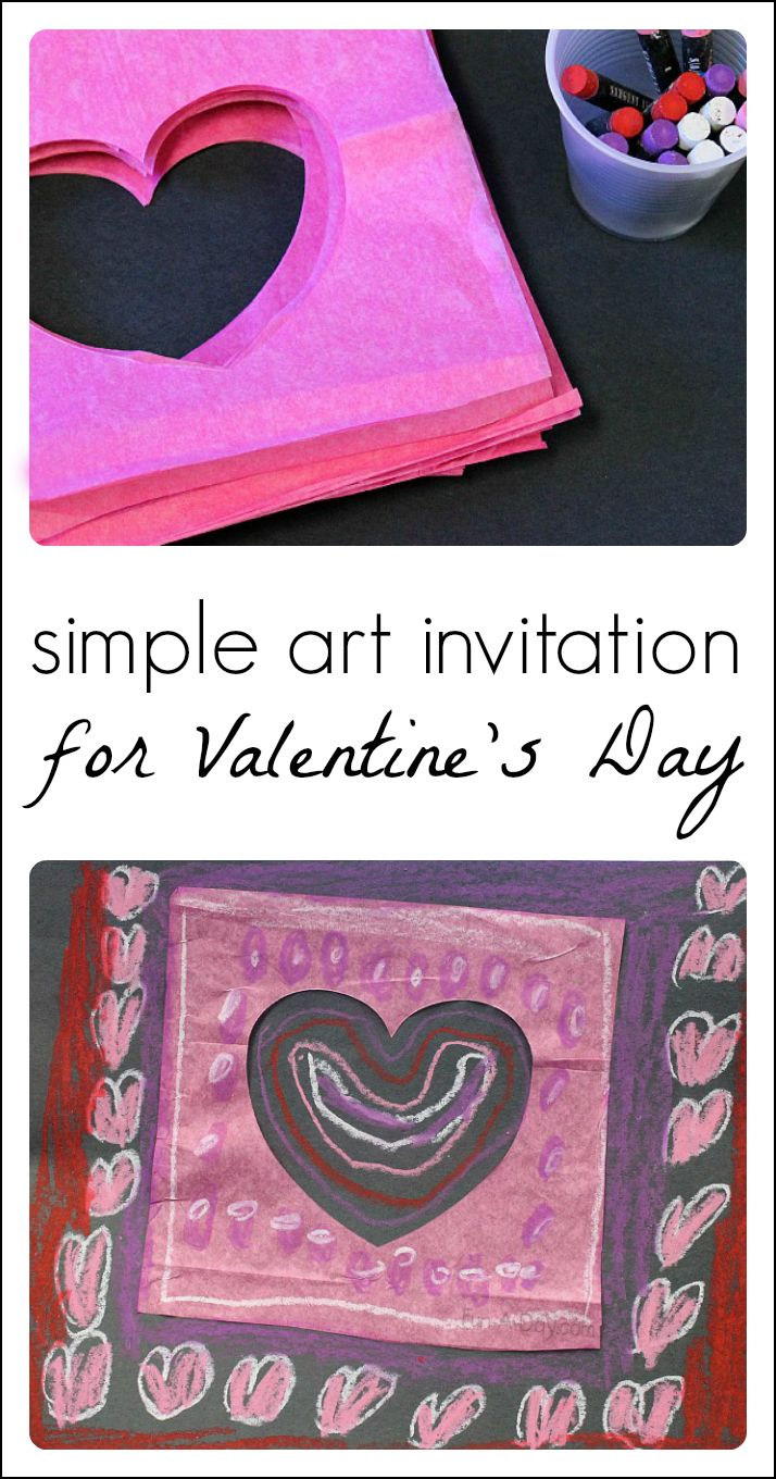 valentines day presents s day craft with paper and pastels 31036