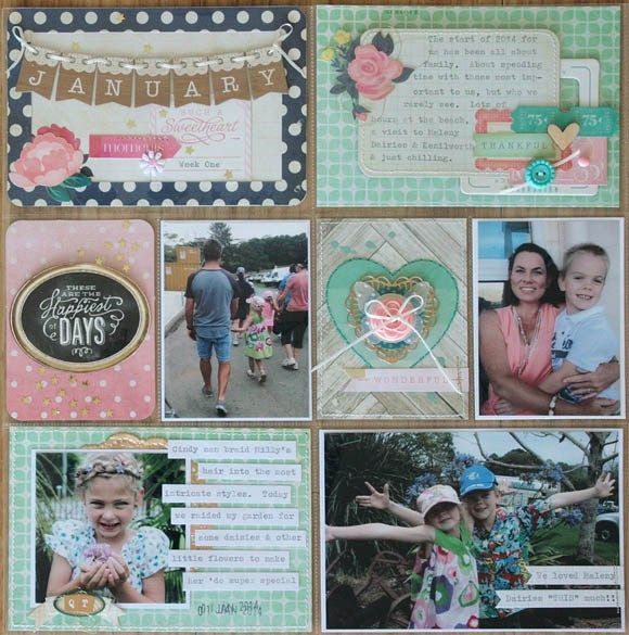 Creating Layers & Dimension in your Project Life Layouts by Jodie King