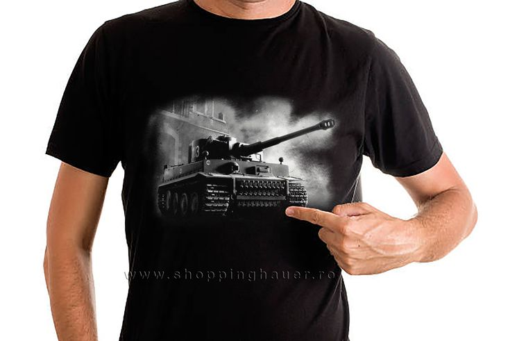 TIGER 1 TANK T-SHIRT FROM SHOPPINGHAUER