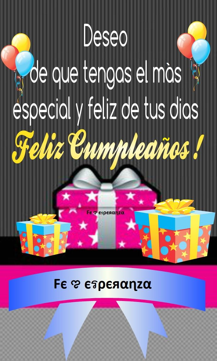 Feliz Cumpleaños Happy Birthday FelizCumpleaños Pinterest
