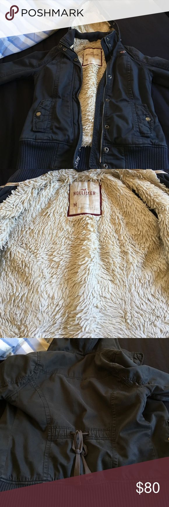 Hollister coat Great condition Hollister Jackets & Coats
