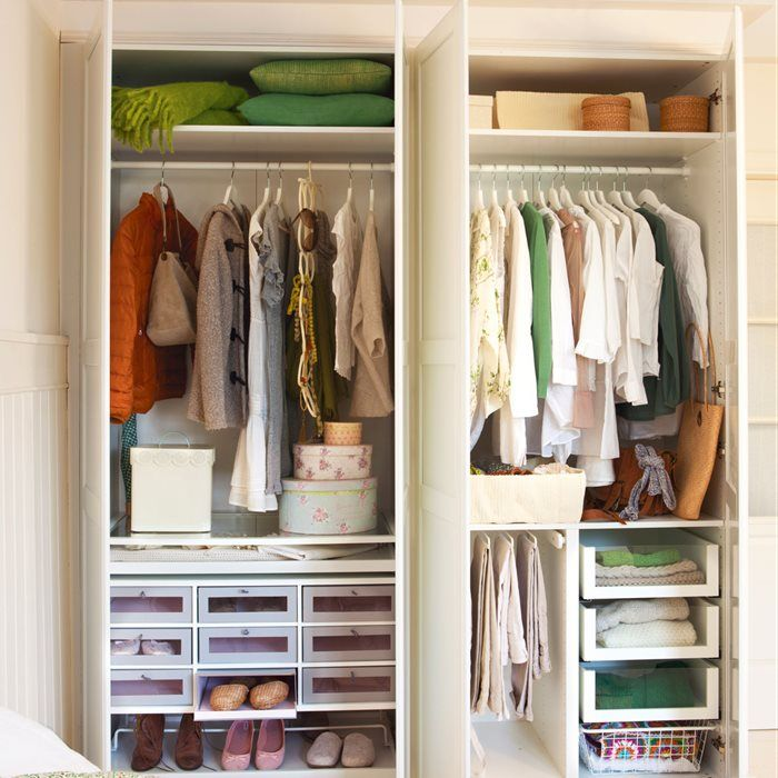 Las 25 mejores ideas sobre armario zapatero en pinterest armario para zapatos armario de - Organizar armarios empotrados ...