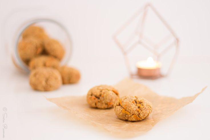 Cookies de Cenoura e Especiarias Saudáveis...