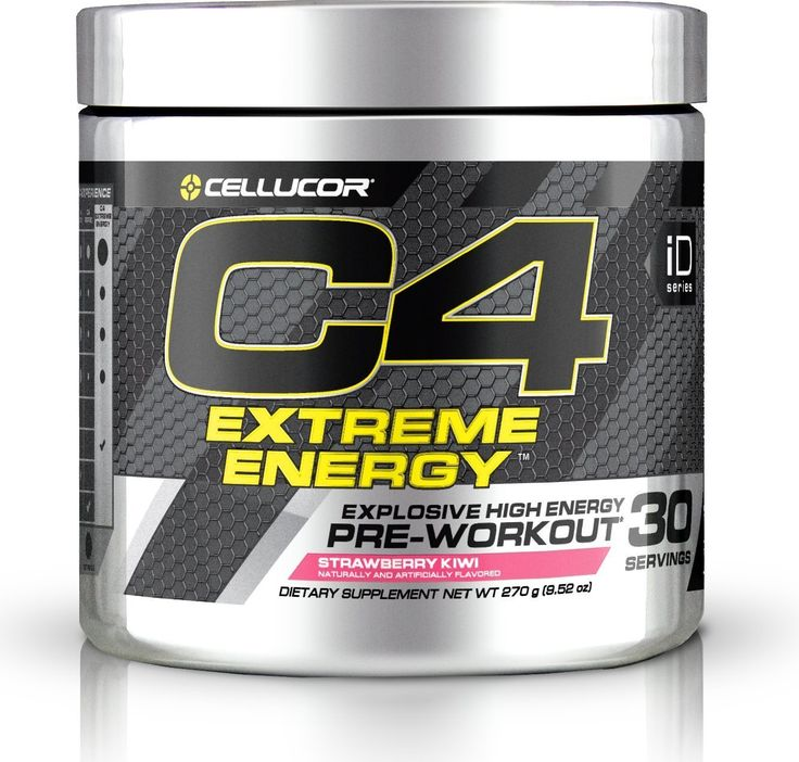 How Much Caffeine Is In C4 Pre workout supplement