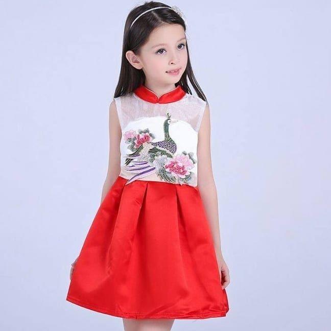 Dress Ready Stock Kod Mla Price Rm66 Size Red 3 4y 4 5y 7 8y Blue 3 4y 4 5y 5 6y 6 7y 7 8y Girl Red Dress Childrens Dress Dresses
