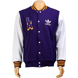 Adidas NBA Lakers Jacket (reg purple sld)