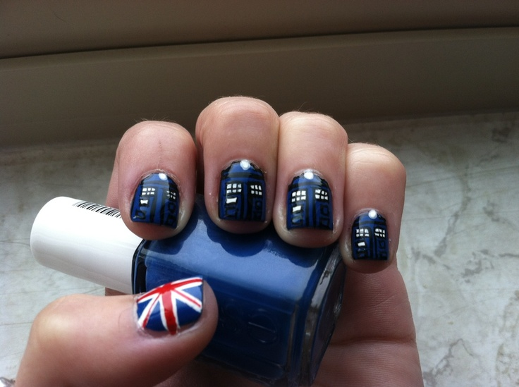 51 Best Doctor Who Nails Images On Pinterest Doctor Who Nails
