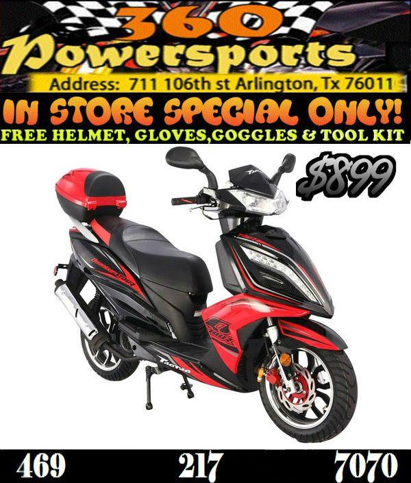 TaoTao Quantum Tour 150cc Scooter. Sale Price: $899.00