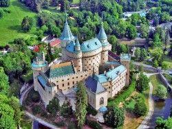 várak és kastélyok Bajmóci Várkastély Bojnice (Bajmóc)