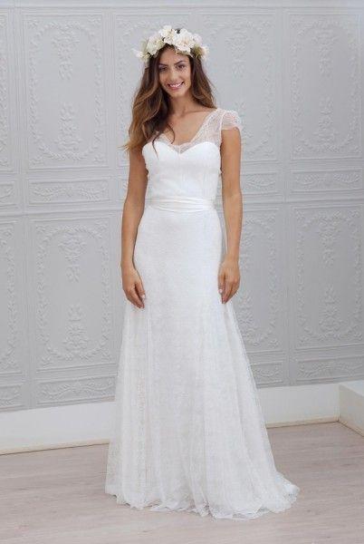 Marie Laporte robe de mariee 2015 - La Fiancee du Panda blog mariage Celestina_1face
