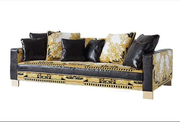 Jaipur versace home collection interior design Versace sofa