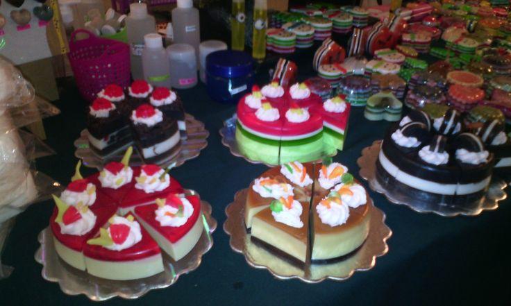 Tortas de jabón, made in Venezuela