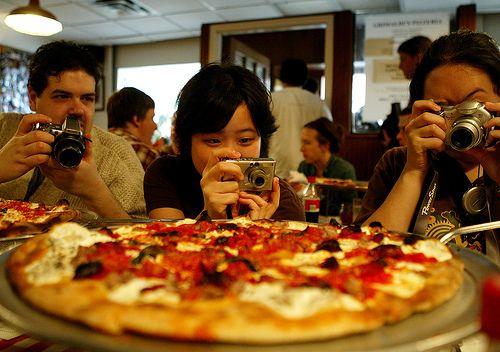 La pizza de Grimaldi's