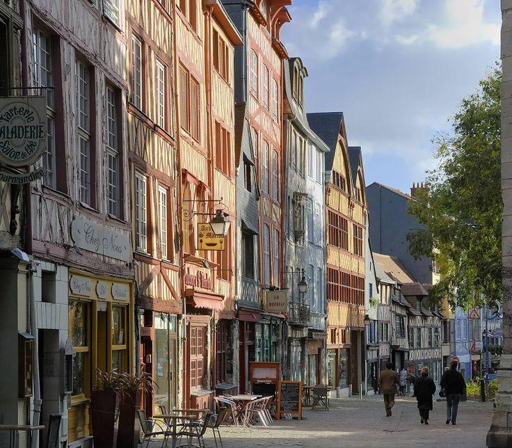 Rouen - Joan of Arc, Claude Monet - Cathedral, Gros-Horloge ...