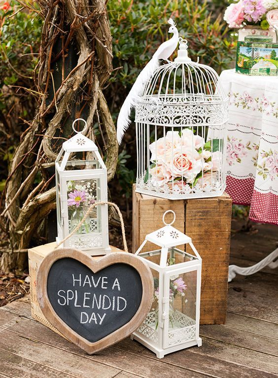 Girls backyard tea party by Courtney Horwood / http://www.himisspuff.com/tea-party-bridal-shower-ideas/