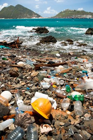 Plastic in the ocean is a problem everyone contributes to but rarely contemplates