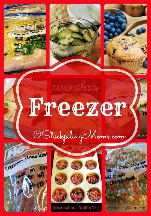 Freezer Recipes are the best to save time and money! #freezercooking #recipe   http://www.stockpilingmoms.com/2014/05/freezer-recipes/