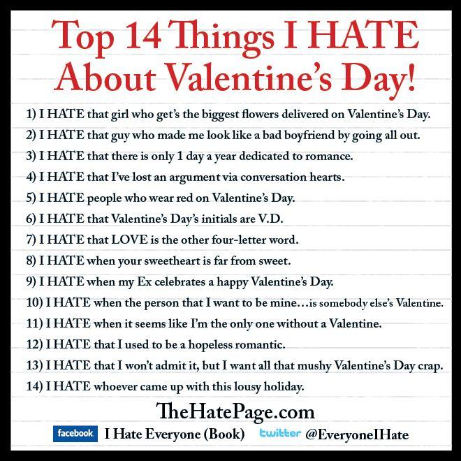 1000+ images about Valentine's Sucks ;) on Pinterest ...