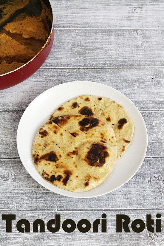 Tandoori Roti Recipe on Tawa, Stove top  http://www.spiceupthecurry.com/tandoori-roti-recipe/