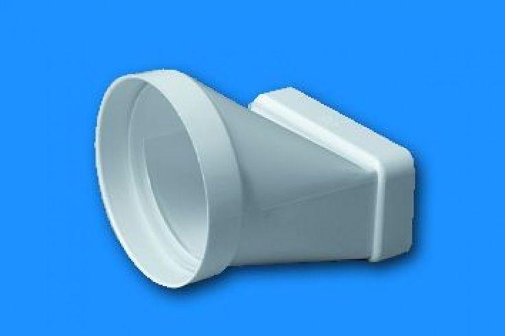 Gonal 0620 Cső-lapos csatorna átalakító      Légtechnikai és páraelszívó tartozékok (csövek, idomok, rácsok, stb.)   Ventilatorok.hu - a ventilátor és ipari ventilátor szakértője