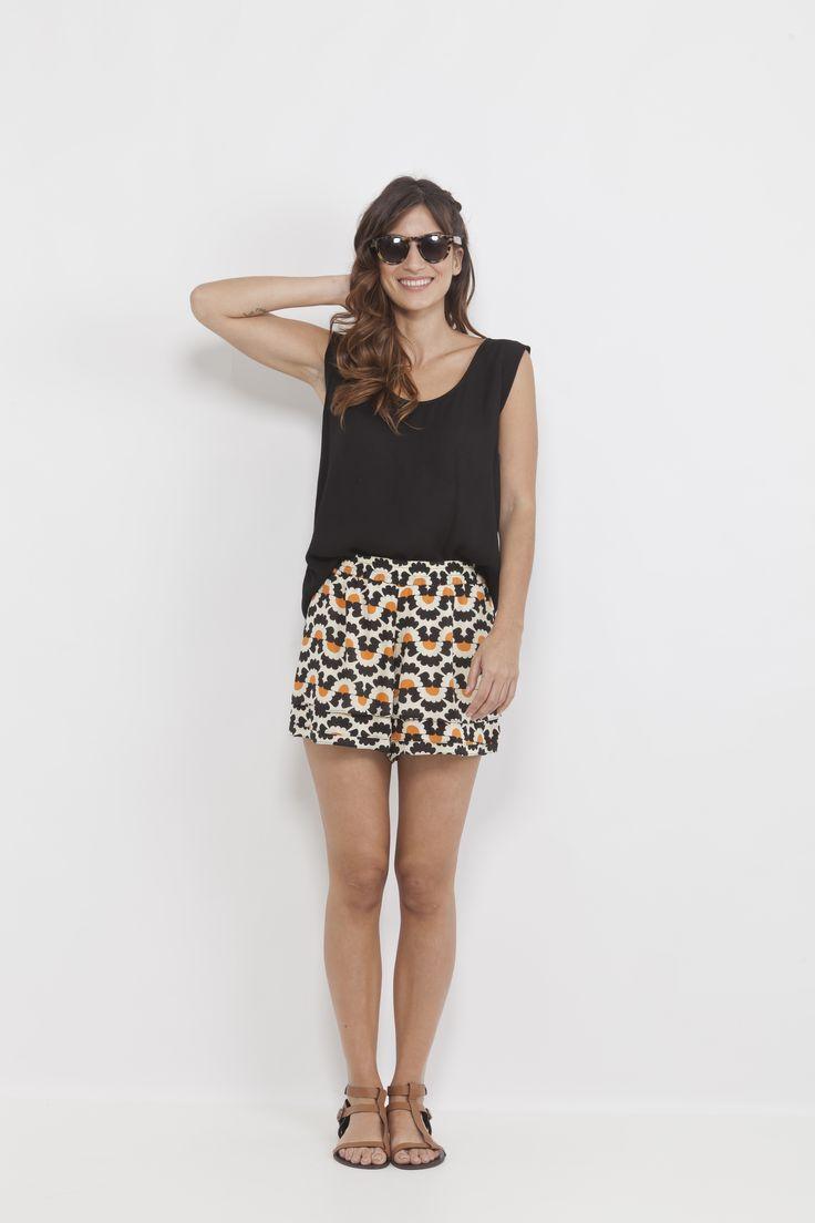 soft fabrics, bright patterns.