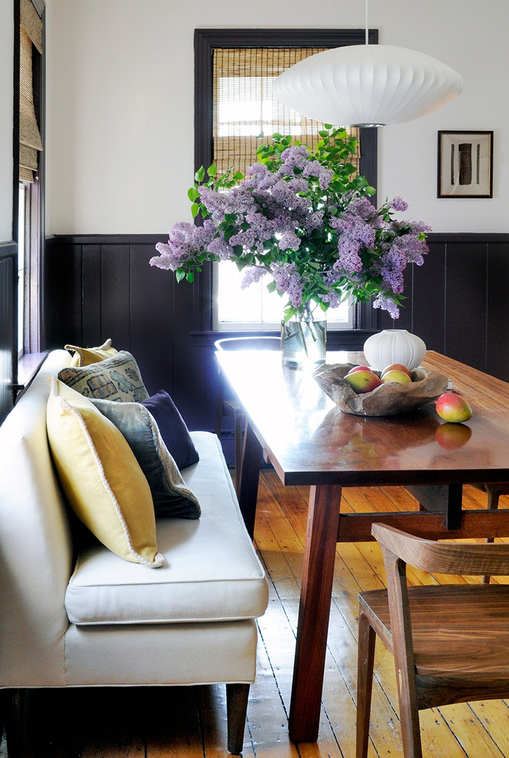 Best 25 black wainscoting ideas on pinterest for Small eating area ideas