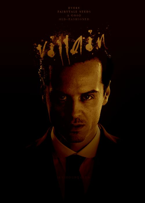 Moriarty is the fairy tale villain from your nightmares.