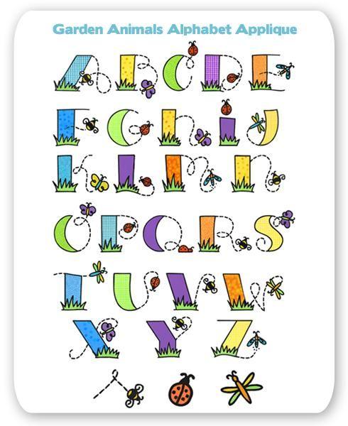 Best embroidery alphabet ideas on pinterest