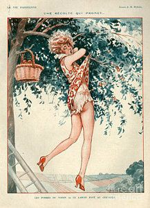 Drawing - 1920s France La Vie Parisienne by The Advertising Archives