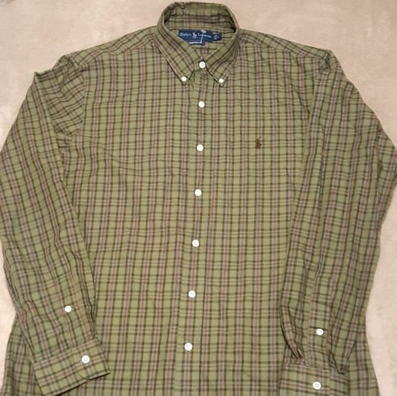 Shop Men's Polo by Ralph Lauren Brown size L Casual Button Down Shirts at a discounted price at Poshmark. Description: Polo Ralph Lauren - Button Down Plaid - Men's Shirt *BRAND NEW WITH TAGS* Product Information :. Sold by eazyenasales. Fast delivery, full service customer support.