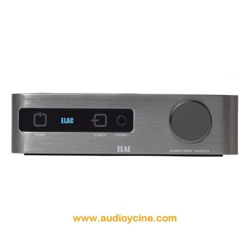 AMPLIFICADOR ELEMENT EA-101EQ-G DE ELAC. Amplificador con 80W por canal y control del amplificador  con DSP. Ideal para combinarse con el Elac Discovery Music Server y los nuevos altavoceces Debut y Uni-FI. #amplificador #integrado #HiFi #Elac