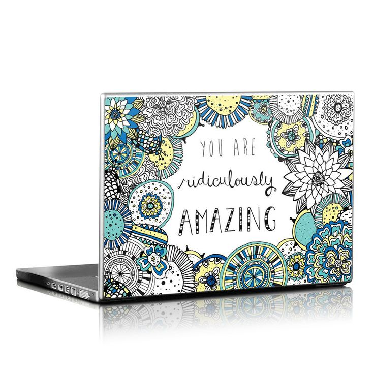 Laptop Skin - You Are Ridic by Susan Claire
