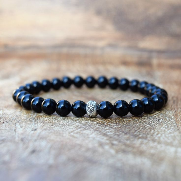 The Classic Bracelet - Black Onyx