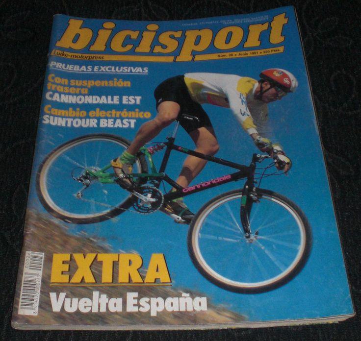Revista Ciclismo Bicisport Num 26 Junio 1991 - 91 Extra Vuelta a España Incluido  POSTER MELCHOR MAURI A DOBLE HOJA  Y mucho + por descubrir ¿te lo vas a perder?