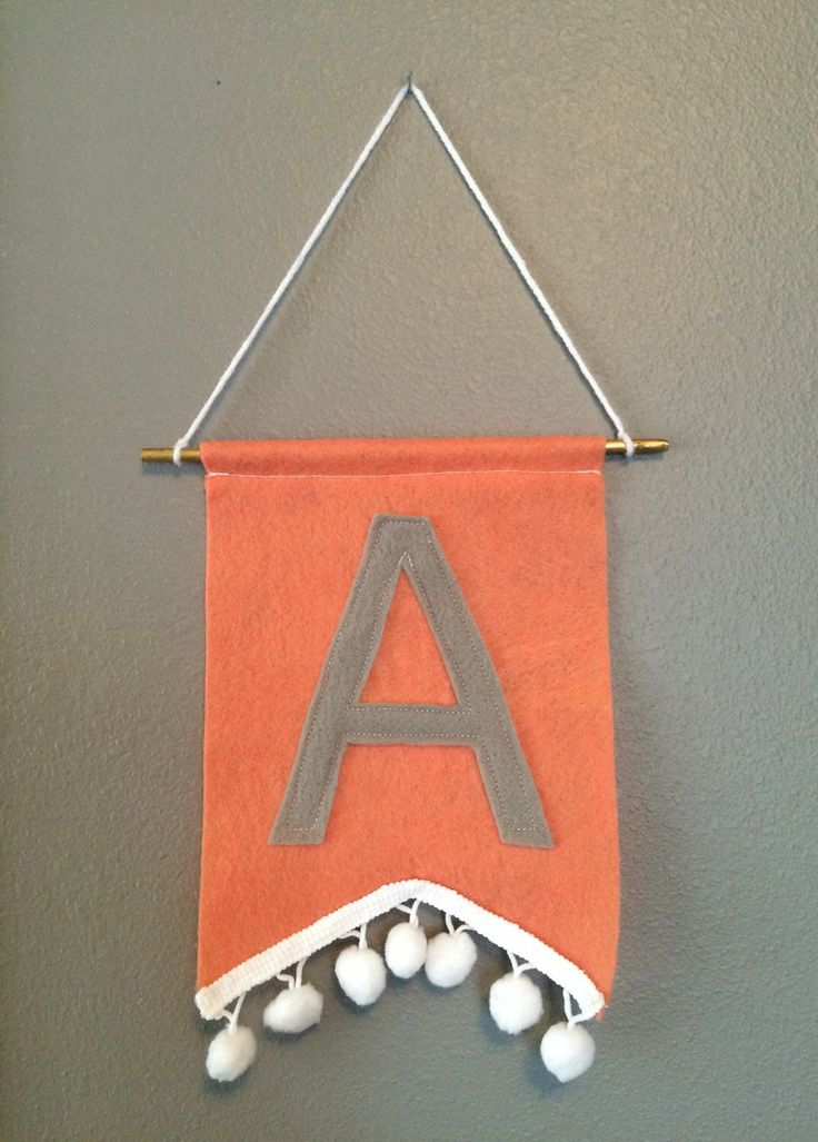 A personal favorite from my Etsy shop https://www.etsy.com/listing/246070301/nursery-decor-initial-banner