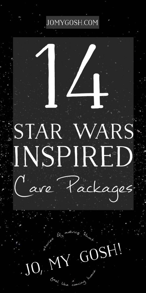 14 Star Wars Inspired Care Packages