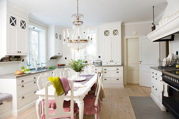Moderne kjøkken i gammel stil - 16 tips til et landlig kjøkken - Boligpluss.no