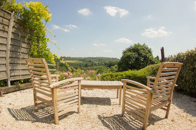 La Terrasse du gite la Petite Longère pour 3 personnes en Normandie - Le Domaine du Martinaa: Projet Photo 365 - 20 Juillet 2013