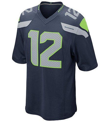 12th Fan Jersey Seattle Seahawks 12th Fan Color Blue Men's Elite Jerseys (52(XXL)) by NFL. $79.00. Thank you for coming to our store, We store the name: 1st DOING, our shipping options : DHL, more quickly let you receive the goods, the goods we will inform you, let you know timely tracking ship,  In the us fill the tracking number, need to query the friend please to DHL trace waybill number, you have any questions please tell us in time, when you received the goods, ple...
