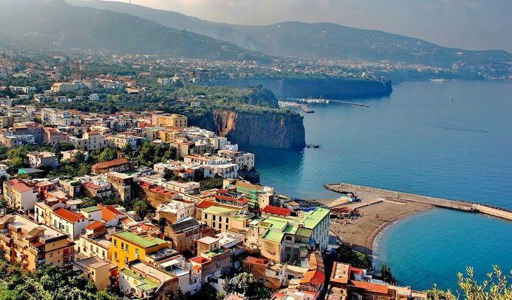Golfo di Napoli visto da via Posillipo