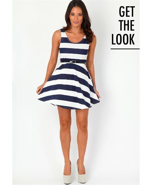 Магазины где полосатое платье
