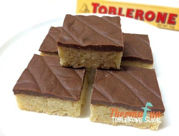 ThermoFun   Toblerone Slice Recipe