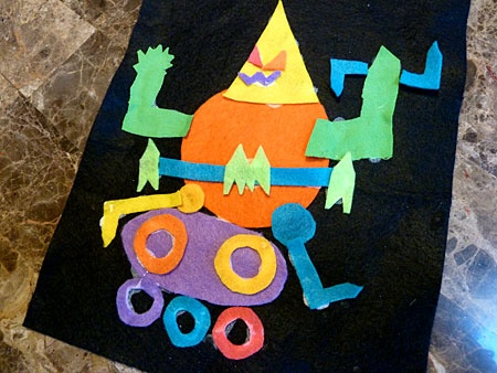 8 best images about felt art projects on pinterest for Felt arts and crafts