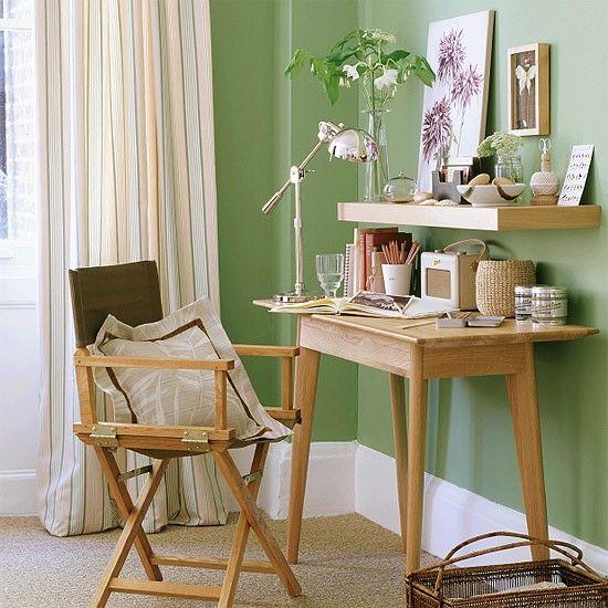 Soft Green Hallway | Decorating interiors | Hallway furniture | Image | Housetohome.co.uk