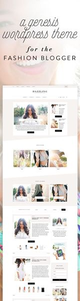 themes for fashion bloggers