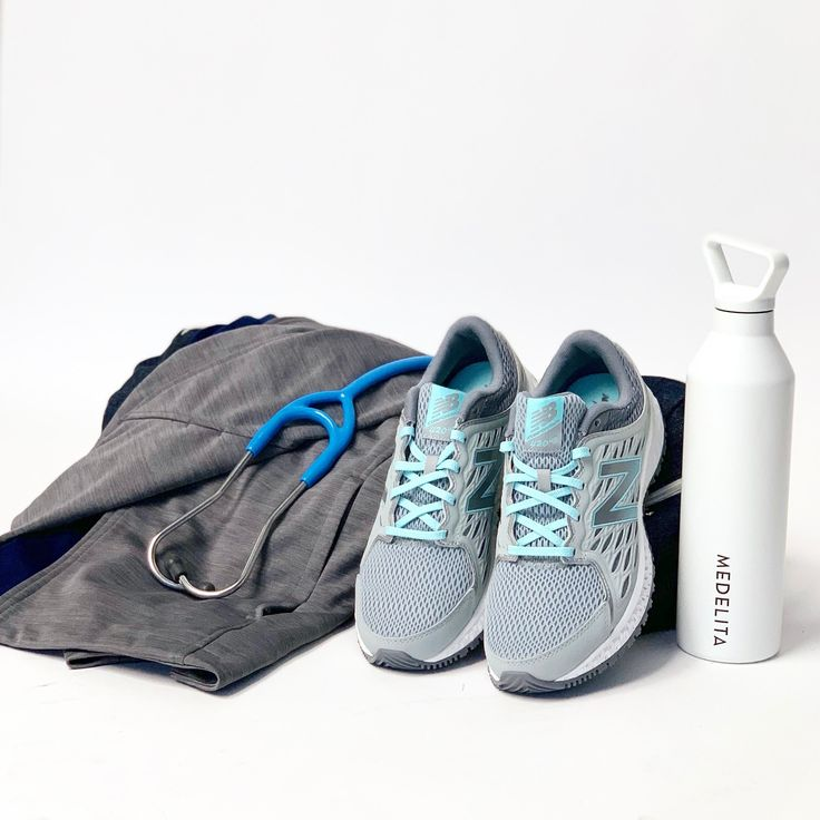 New Balance 420v3 Gray / Blue Women's Nursing shoes